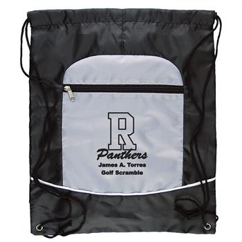 DS700 - Two Tone Sportsbag w/Drawstring