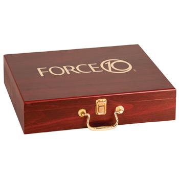 RFGLF1 - Rosewood Finish Golf Gift Set