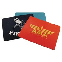 "1/8"" Rectangle Screen Printed Mouse Pad"