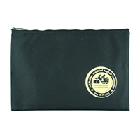 10oz Canvas Zippered Portfolio