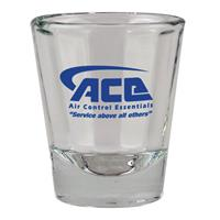 2oz Shot Glass w/Ribbed Interior