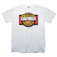 5.6oz White 50/50 Blend T-Shirt