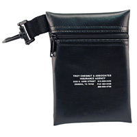 TexOLeather Zippered Golf/Accessory Bag