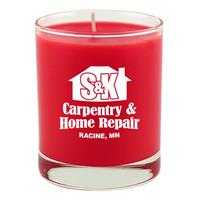 7.5oz Clear Glass Candle