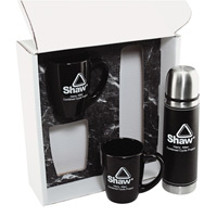Thermos/Ceramic Gift Mug Set